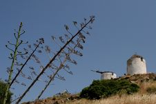 Free Windmill On Naxos Island Royalty Free Stock Photography - 5982907