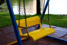 Free Bright Children S Swings Royalty Free Stock Image - 5982966