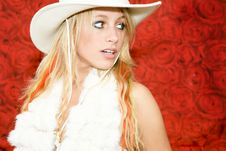 Free Cowboy Girl Royalty Free Stock Photography - 5983207