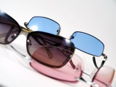 Free Colorful Sunglasses Royalty Free Stock Photos - 5983658