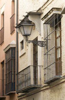 Street Of Sevilla Stock Photography