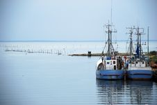 Free Fishingboats Stock Photography - 5984372