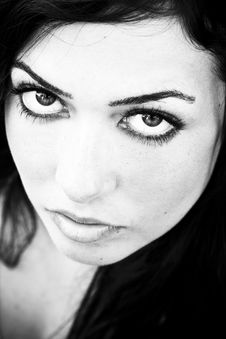 Free Staring Woman Stock Images - 5984624