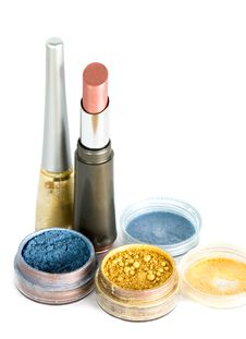 Free Set For Make-up Stock Photo - 5984940