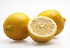 Free Three Lemons Stock Images - 5985024