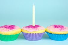 Free Cup Cakes Stock Photography - 5985402