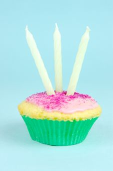 Cup Cakes Stock Image