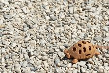 Clay Turtle Royalty Free Stock Images