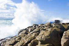 Powerful Waves Stock Images