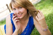 Free Beautiful Young Woman Stock Image - 5985651