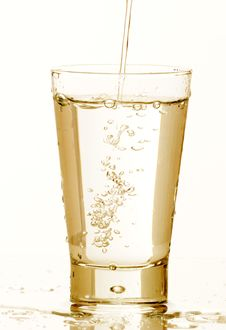 Free Glass Of Water Royalty Free Stock Photo - 5986155