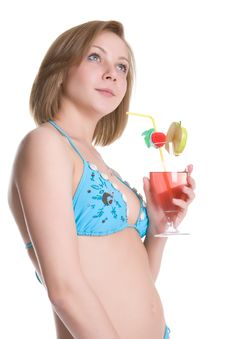 Free Summer Cocktail Royalty Free Stock Image - 5986846