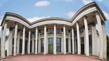 Free Soviet Neo-classic Architecture Royalty Free Stock Photo - 5987115