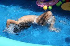 Free Swimming Pool Royalty Free Stock Image - 5987206