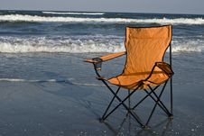 Free Beach Chair Stock Photos - 5987323
