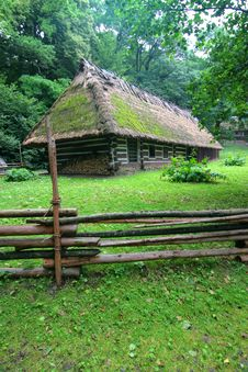 Free Cottage In The Forest Stock Photos - 5988253