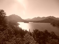 Free Lake Sepia Stock Photo - 5988930