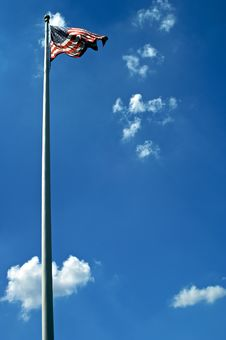 Free Sunny Flag Royalty Free Stock Photo - 5989185