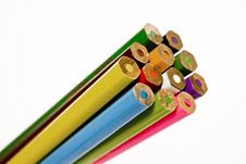 Free Colored Pencils Royalty Free Stock Photos - 5989288