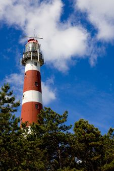 Ameland Lighthouse Royalty Free Stock Photos