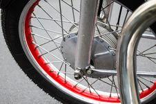 Free Retro Motorcycle Tire Closeup Bike Royalty Free Stock Photo - 59846025
