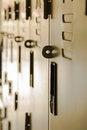 Free School Hallway Locker Shallow DOF Stock Photo - 59877840