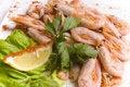 Free Boiled Shrimps Royalty Free Stock Image - 5991906