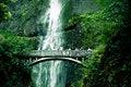Free Bridge With Waterfall Stock Photography - 5994382