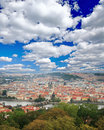 Free The Aerial View Of Prague Royalty Free Stock Photos - 5996138