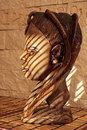 Free Wooden Sculpture From Africa Stock Images - 5997224
