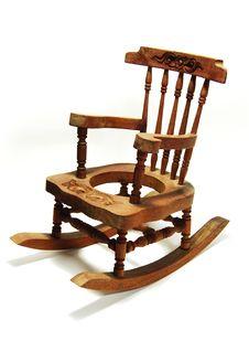 Free Rocking Chair Royalty Free Stock Photo - 5990795