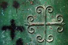 Free Metal Door Royalty Free Stock Images - 5991519