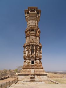 Free Chittorgarh Citadel Ruins In Rajasthan, India Royalty Free Stock Image - 5991686