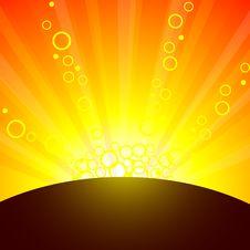 Free Sun. Stock Image - 5991701