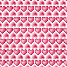 Free Heart Pattern (Vector) Stock Photography - 5992122