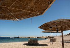 Free Beach Umbrellas Stock Photography - 5992152