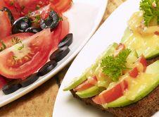 Free Vegetarian Dinner Royalty Free Stock Image - 5992466