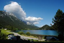 Free Landscape Of Hintersteinersee . Royalty Free Stock Images - 5993219