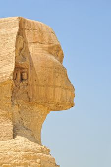 Free Head Of The Sphinx Of Gizeh Stock Image - 5993551