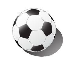 Free Football And His Shadow Royalty Free Stock Photos - 5993578