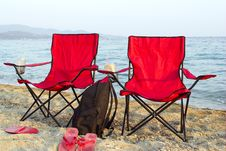 Free The Red Chairs Royalty Free Stock Photos - 5993598
