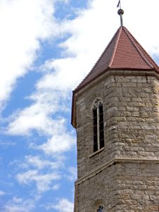 Church Tower Detail Stock Images