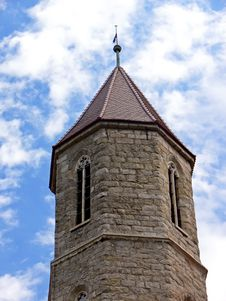 Free Church Tower Detail Royalty Free Stock Image - 5993606