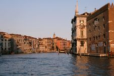 Free Venice Grand Canal Royalty Free Stock Images - 5993839