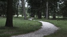 Free Road In The Park. Royalty Free Stock Image - 5994246