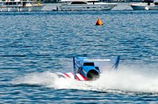 Free Unlimited Hydro Race Boat Stock Image - 5994321