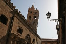 Free Cathedral Of Palermo (Sicily) Stock Image - 5994341
