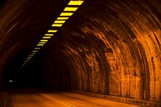 Free Light At The End Of The Tunnel Royalty Free Stock Image - 5994546