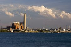 Free IMG_2800 Coal Plant Royalty Free Stock Photography - 5995707