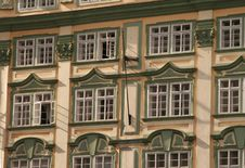 Free Prague. Windows. Stock Image - 5995931